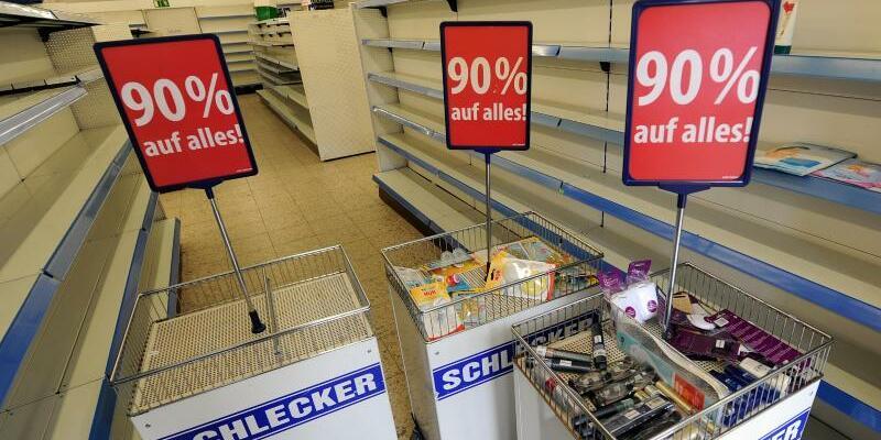 Schlecker-Markt - Foto: Holger Hollemann