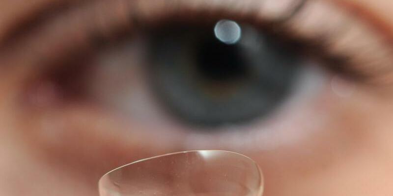 Kontaktlinse - Foto: Daniel Reinhardt/Illustration