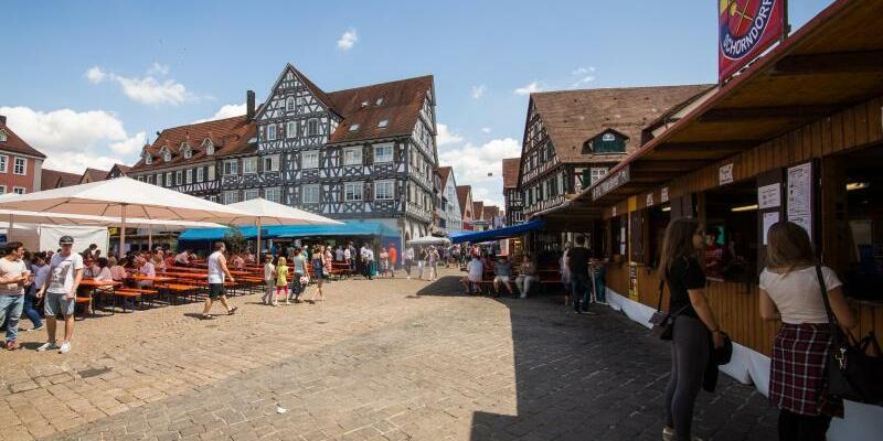 Stadtfest «Schorndorfer Woche» - Foto: Christoph Schmidt