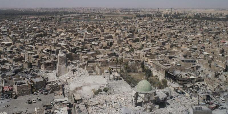 Zerstörtes Mossul - Foto: Felipe Dana