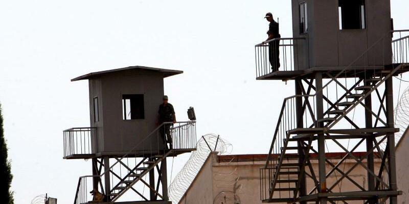 Gefängnis in Antalya - Foto: Gefängnis in Antalya: Nach dem Putschversuch vom 15. Juli 2016 waren die Haftanstalten zeitweise überfüllt. Foto:Tolga Bozoglu