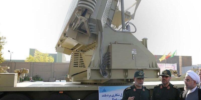 Iranische Raketenabwehr - Foto: Presidential Official Website
