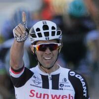 Tagessieger - Foto: Michael Matthews hat sich den Sieg bei der 16. Etappe geholt. Foto:Christophe Ena
