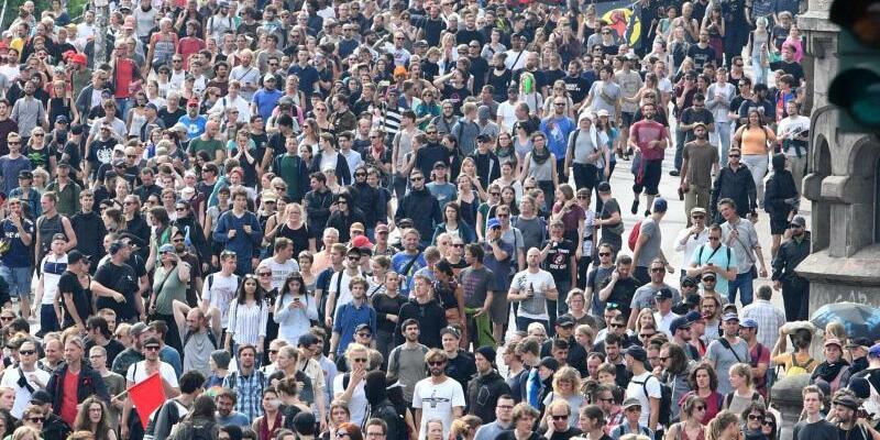 G20-Proteste - Foto: Boris Roessler/Archiv