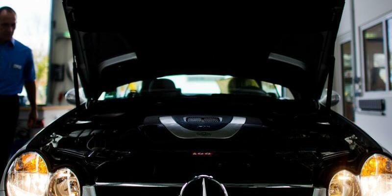 Mercedes-Benz - Foto: Julian Stratenschulte/Symbolbild