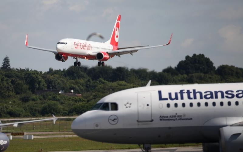 Air Berlin und Lufthansa - Foto: über dts Nachrichtenagentur