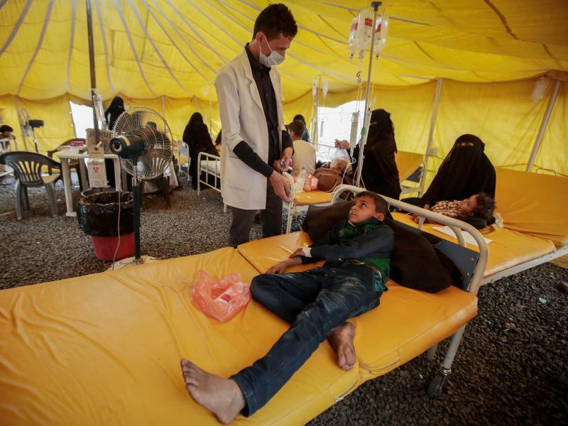 Cholera im Jemen - Foto: Hani Al-Ansi