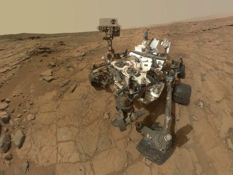 Marsrover «Curiosity» - Foto: Mars Rover Celebrates