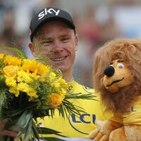 Mister Nice-Guy - Foto: Tour-Dominator Christopher Froome wird dank seines starken Teams die Tour gewinnen können. Foto:Christophe Ena