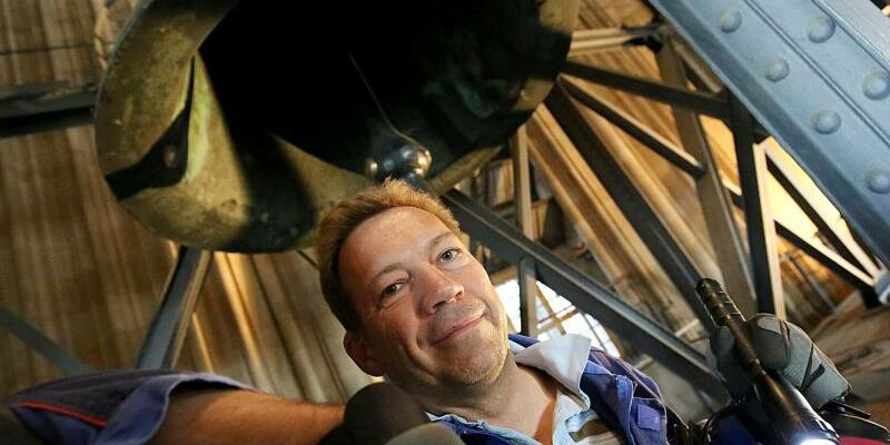 Glockenwartung im Kölner Dom - Foto: Oliver Berg