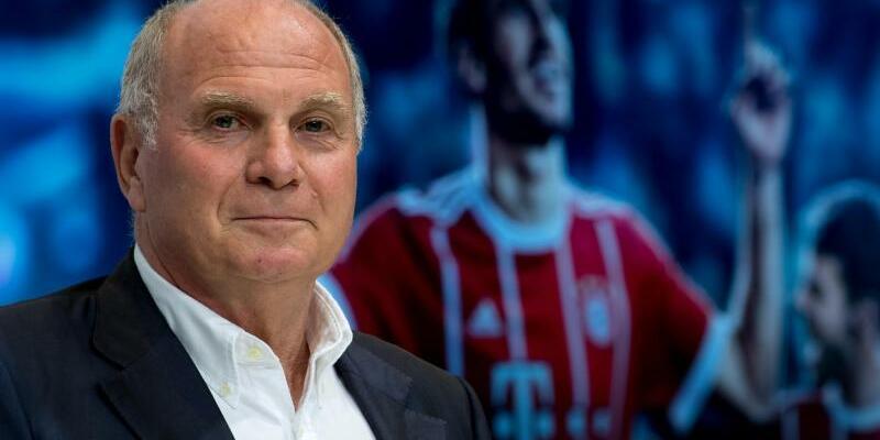 Bayern-Boss - Foto: Bayern-Präsident Uli Hoeneß will die Strapazen zukünftiger Werbetouren minimieren. Foto:Sven Hoppe