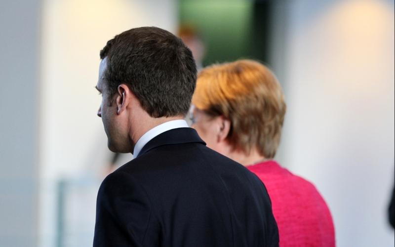 Emmanuel Macron und Angela Merkel - Foto: über dts Nachrichtenagentur