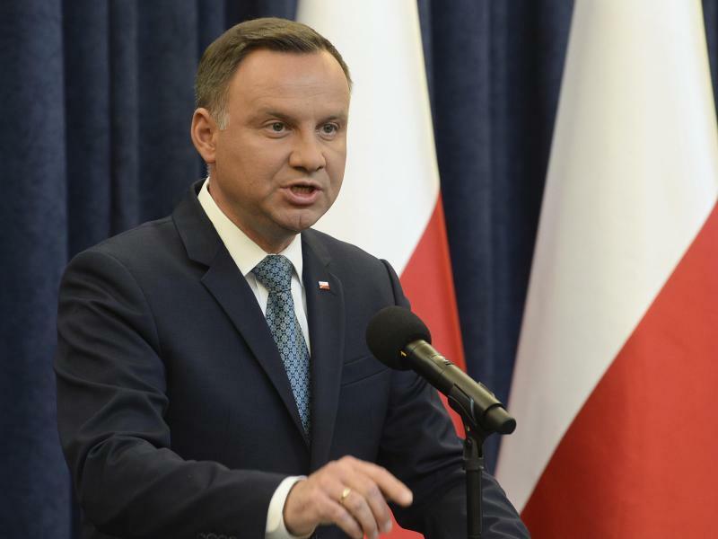 Polens Präsident Duda - Foto: Alik Keplicz
