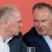 Hoeneß und Rummenigge - Foto: Sven Hoppe