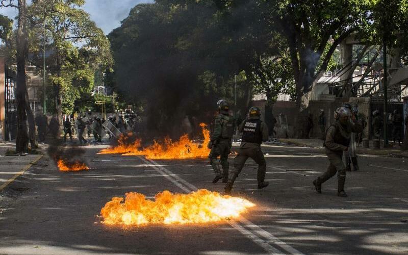 Krise in Venezuela - Foto: Rayner Pena