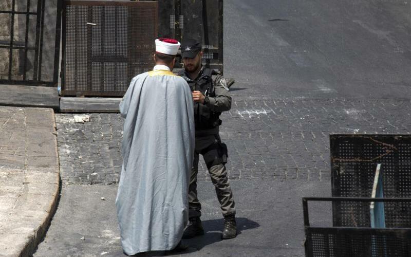 Nach Unruhen in Jerusalem - Foto: Ariel Schalit