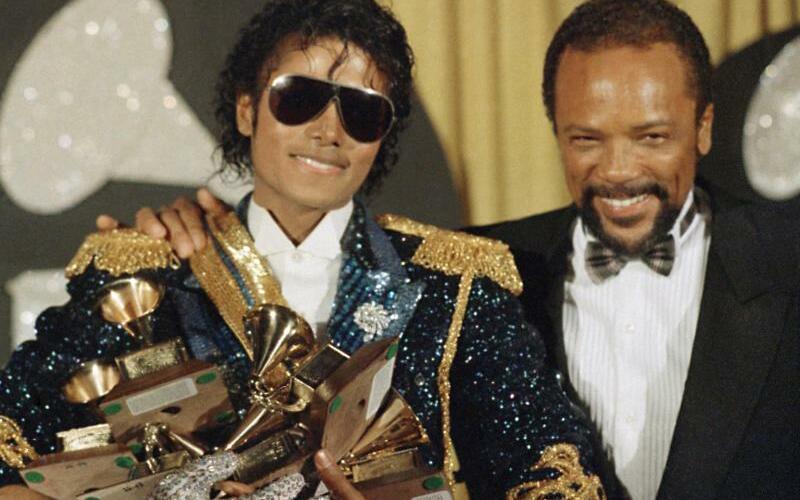 Michael Jackson & Quincy Jones - Foto: Doug Pizac