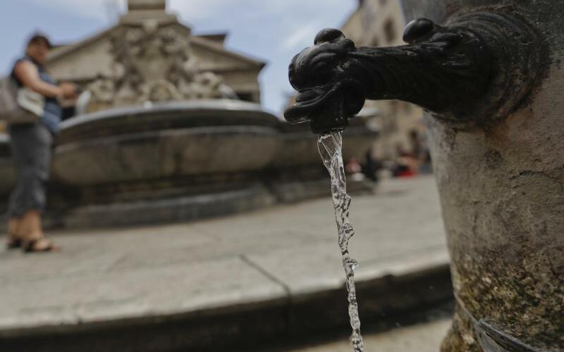 Wasserknappheit in Italien - Foto: Andrew Medichini