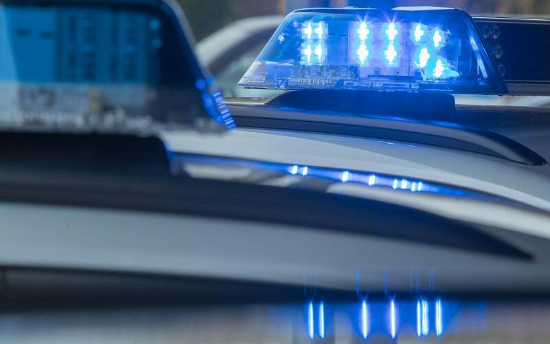Blaulicht auf einem Streifenwagen - Foto: Jens Büttner/Archiv