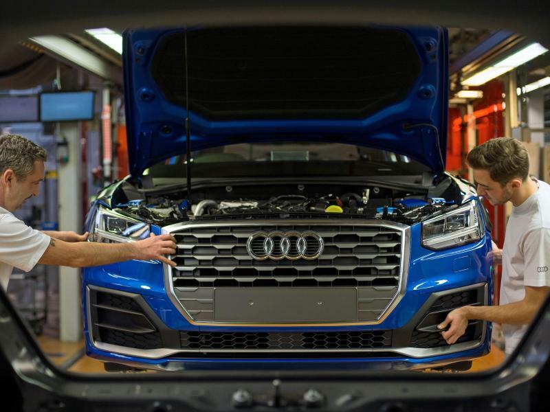 Audi - Foto: Andreas Gebert/Illustration