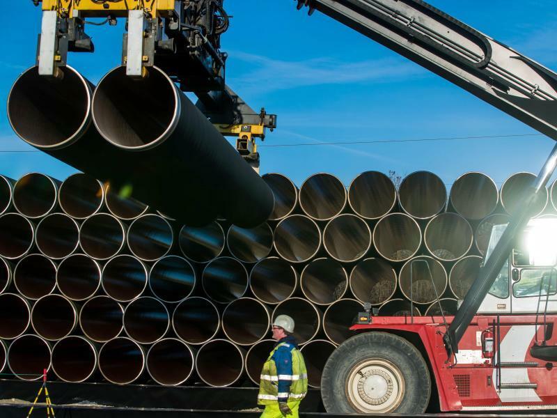 Nord Stream 2 - Foto: Jens Büttner/Illustration
