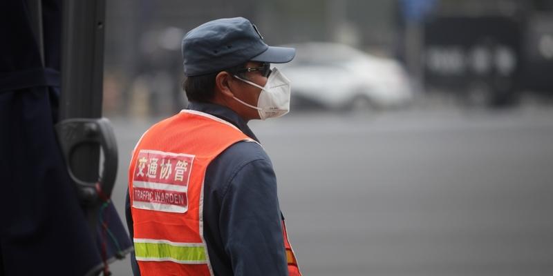 Verkehrspolizist in China - Foto: über dts Nachrichtenagentur