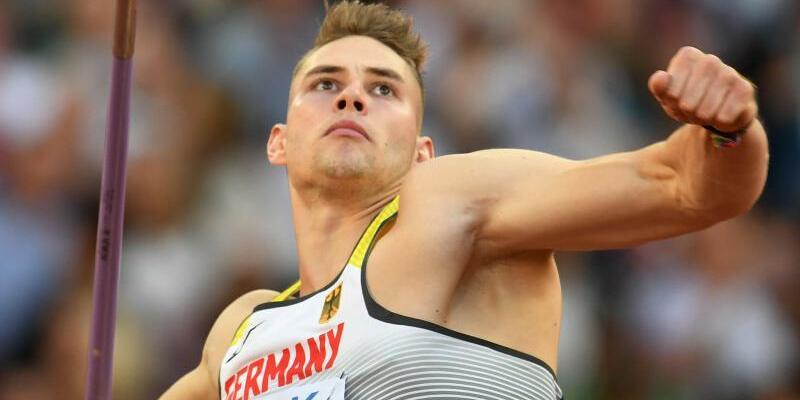 Vorgelegt - Foto: Johannes Vetter hat den Speer in der Qualifikation schon mal auf 91,20 Meter geworfen. Foto:Bernd Thissen