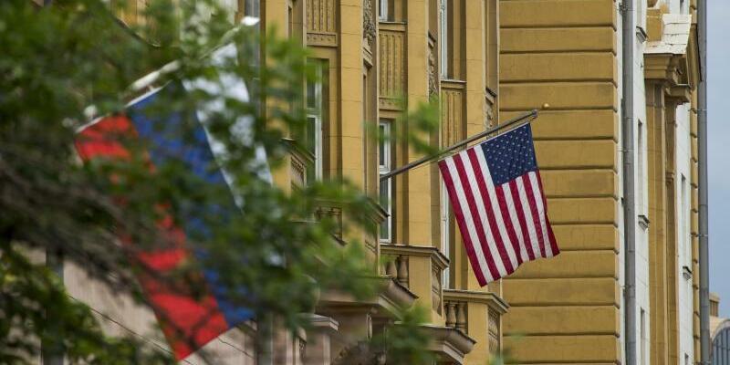 US-Botschaft in Moskau - Foto: Alexander Zemlianichenko