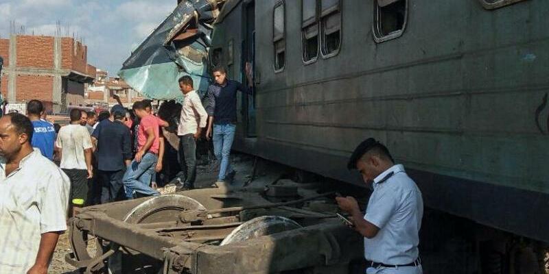 Zugkollision in Ägypten - Foto: Hazem Gouda
