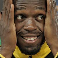 Starsprinter - Foto: Usain Bolt kann sein Karriereende mit der Staffel der Jamaikaner vergolden. Foto:Rainer Jensen