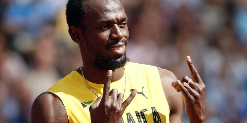 Locker ins Finale - Foto: Usain Bolt kann sein Karriereende mit der Staffel der Jamaikaner vergolden. Foto:Rainer Jensen