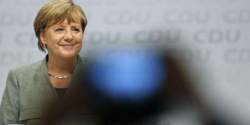 Merkel in Dortmund - Foto: Ina Fassbender