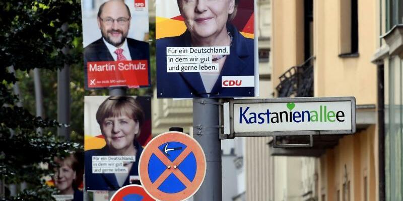 Wahlplakate - Foto: Wahlplakate in Berlin. Foto:Christina Peters