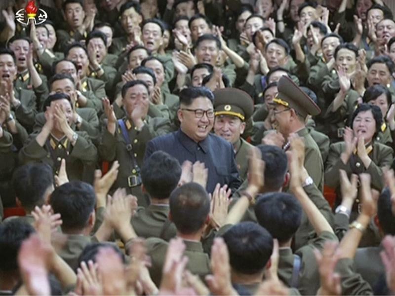 Kim Jong Un - Foto: KRT/AP