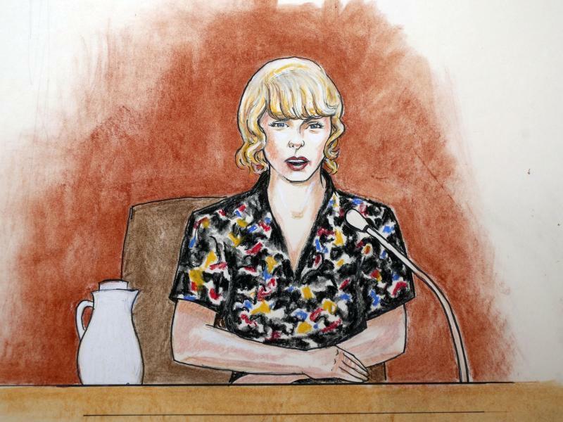 Prozess um Taylor Swift - Foto: Jeff Kandyba