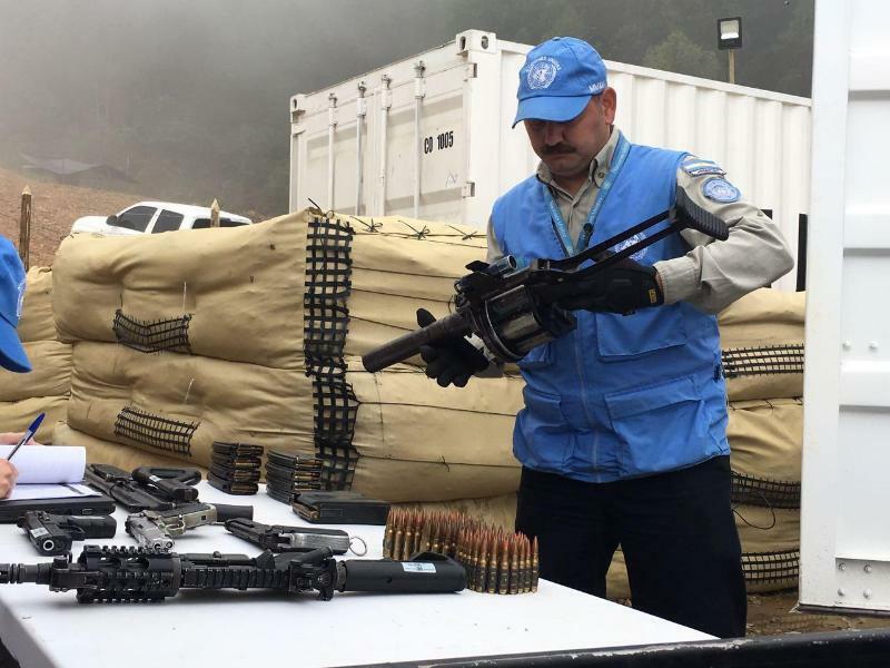 Entwaffnung - Foto: Argemiro Piñeros/Archiv