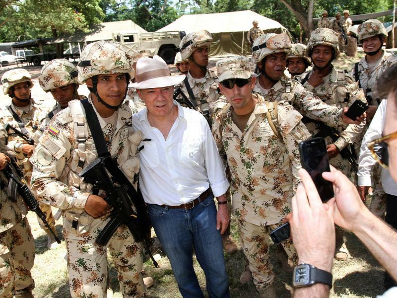Entwaffnung der Farc-Rebellen - Foto: Nelson Cardenas