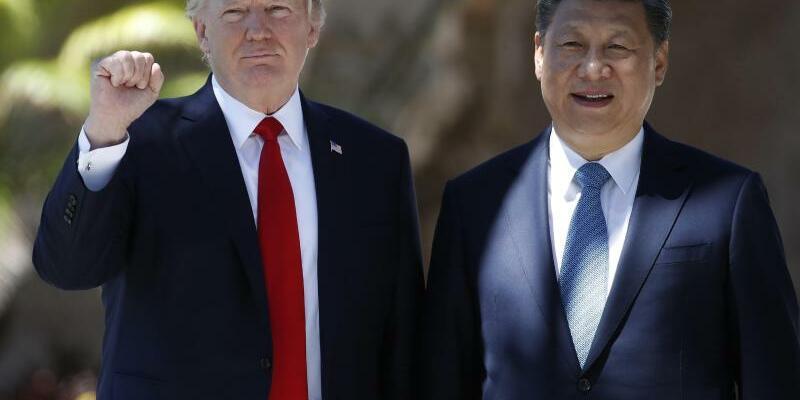 Xi Jinping und Donald Trump - Foto: Alex Brandon