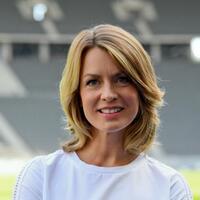 Sportschau-Moderatorin Jessy Wellmer - Foto: Britta Pedersen