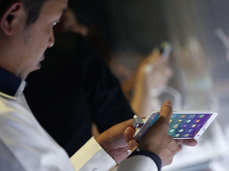 Samsung Galaxy Note 4 - Foto: Narong Sangnak/Symbolbild