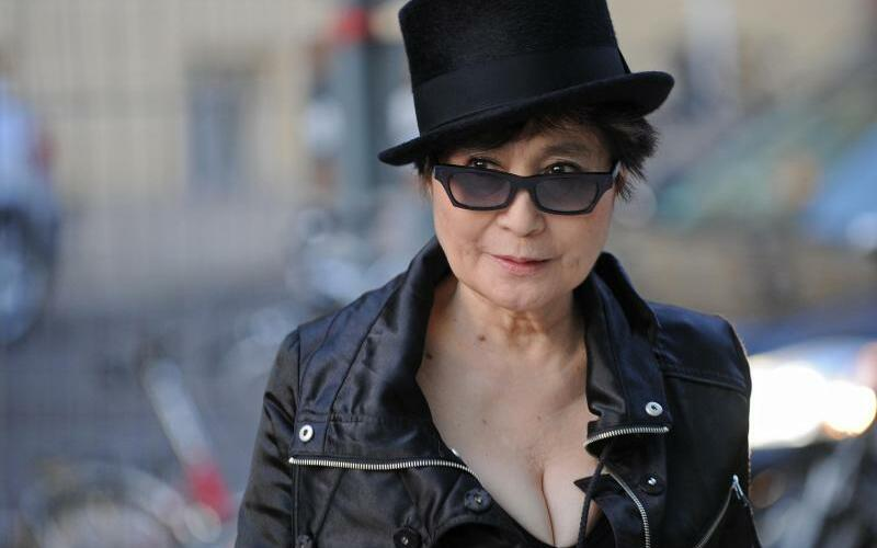 Yoko Ono - Foto: Jens Kalaene