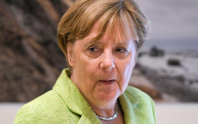 Angela Merkel in Ahrenshoop - Foto: Axel Heimken