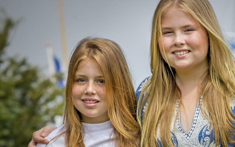 Prinzessin Amalia und Prinzess Alexia - Foto: Patrick van Katwijk