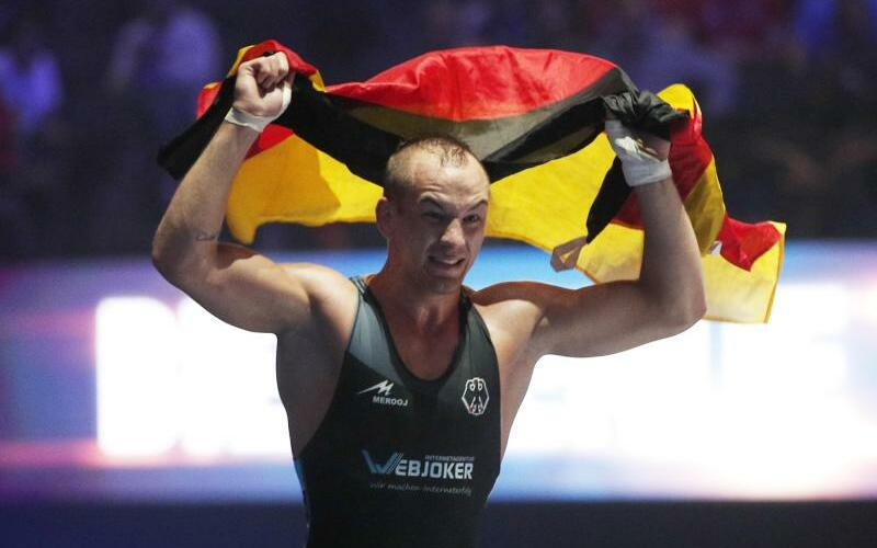 Weltmeister Frank Stäbler - Foto: Christophe Ena