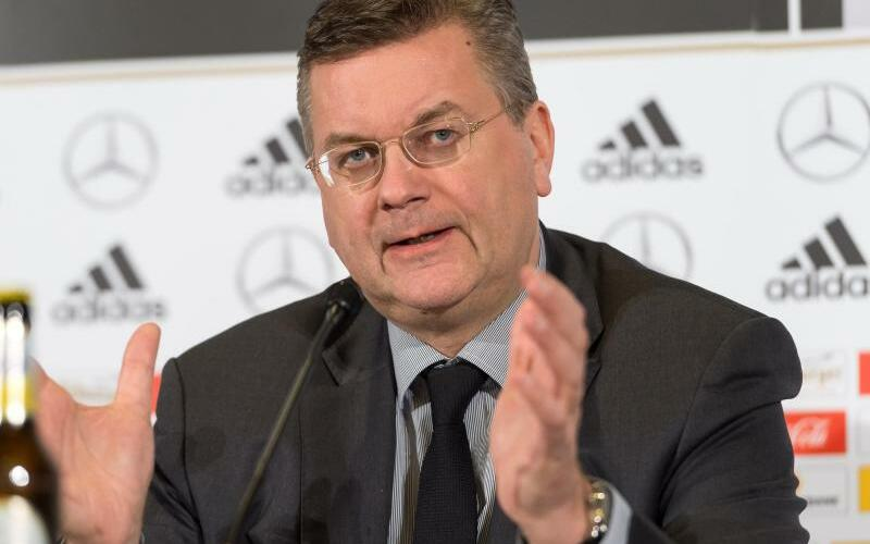 DFB-Präsident Reinhard Grindel - Foto: Guido Kirchner