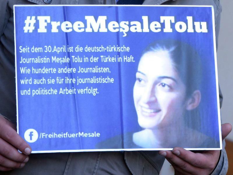Mesale Tolu - Foto: Tolu arbeitete für die regierungskritische Nachrichtenagentur ETHA. Foto:Stefan Puchner