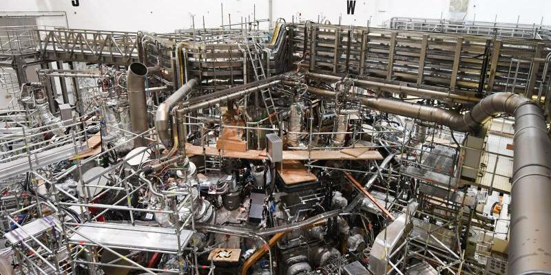 Kernfusionsanlage «Wendelstein» - Foto: Stefan Sauer