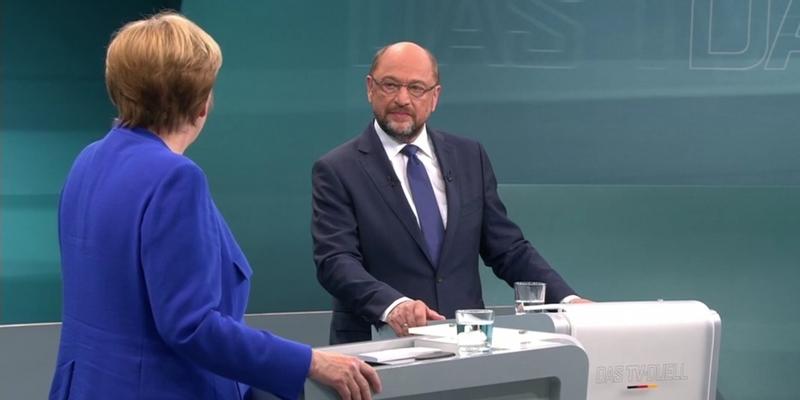 TV-Duell am 03.09.2017 - Foto: über dts Nachrichtenagentur