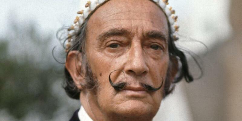 Salvador Dalí - Foto: Horst Ossinger