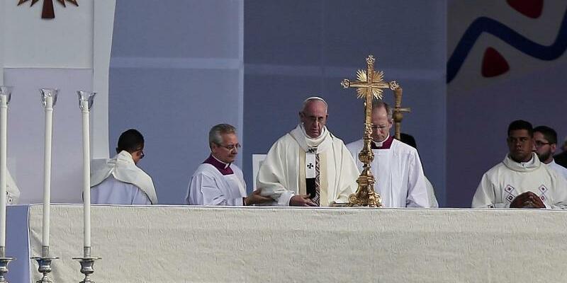 Papstbesuch in Kolumbien - Foto: Alvaro Tavera/colprensa